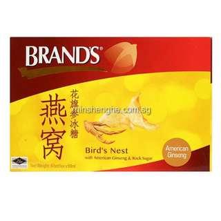 Brand's Bird's Nest with American Ginseng & Rock Sugar - 6 bottles x 68ml