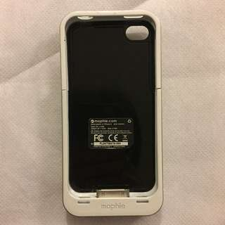 Mophie external charger for iPhone 4