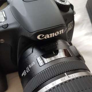 Canon EOS 60D DSLR + Canon EFS 17-55mm f2.8 lens (King of Crop)