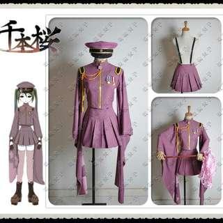 Senbonzakura Miku Hatsune Cosplay Costume
