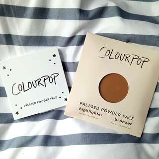 [CLEARANCE] Colourpop Pressed Powder Bronzer in Afternoon Delight