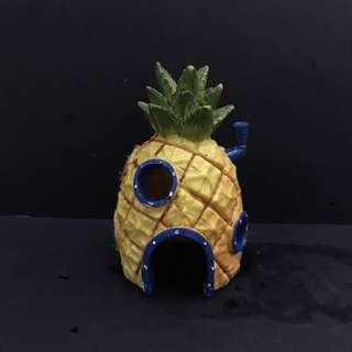 Spongebob pineapple aquarium decoration