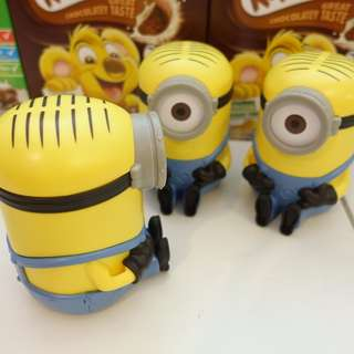 MINIONS CEREAL CONTAINER TOY MILK NESTLE KOKOKRUNCH HONEY STAR MILO