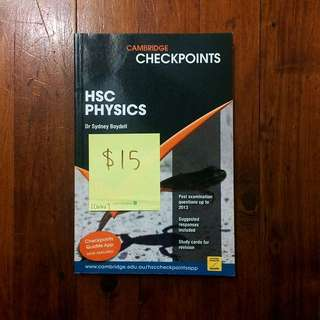 HSC PHYSICS CHECKPOINT