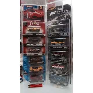 Hotwheels Retro Card 5pack protector