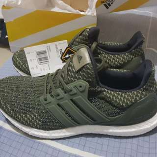 Adidas Ultraboost LTD 3.0 Trace Cargo BA7748 Size 7.5 US Mens Authentic BNDS