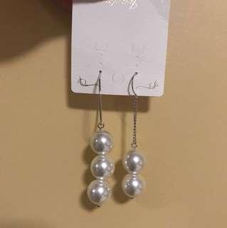 Korea pearl earring