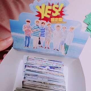 BTS專輯yescard