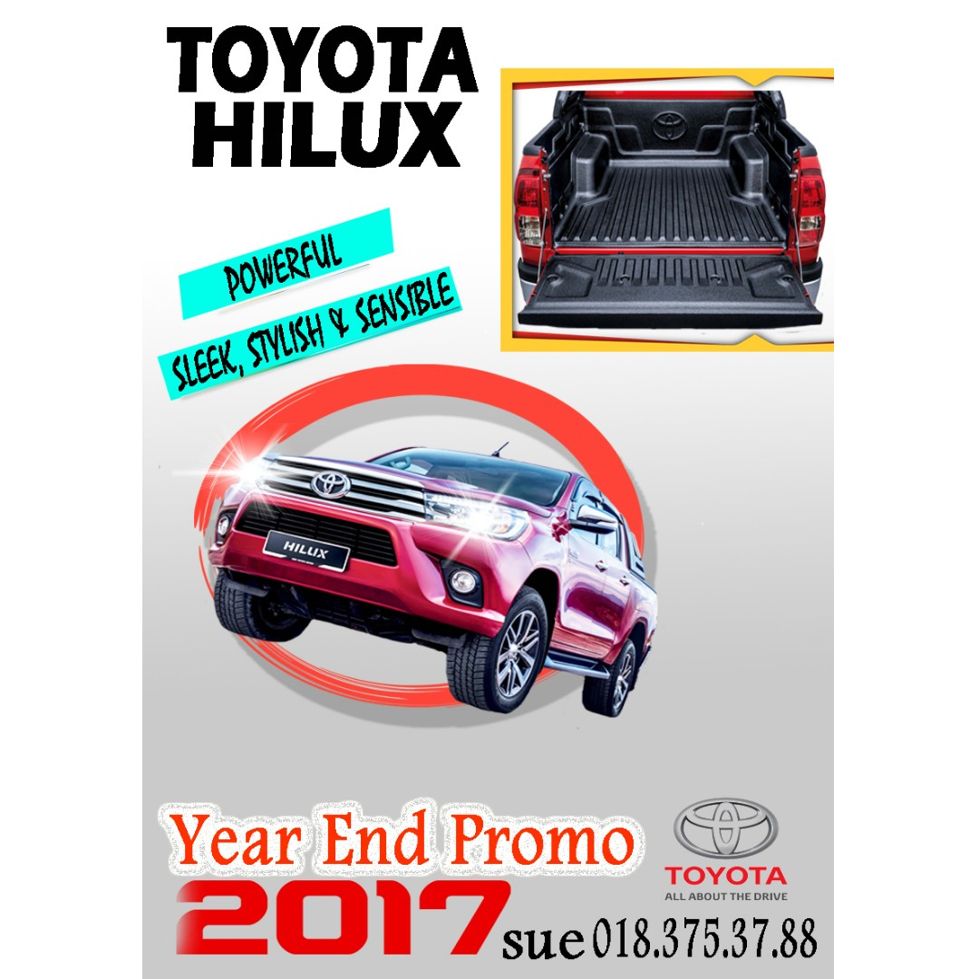 2017 year end promo toyota hilux cars cars for sale on carousell rh my carousell com