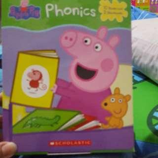 Peppa pig正版phonics books