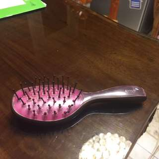 Goody outchless brush pink and gray big