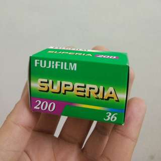 Fujifilm Superia 200(Discontinued)