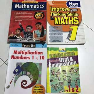 Primary 1 assessment books bundle 11 books