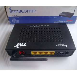 TM innacomm ADSL2+ Wireless Router W3400V