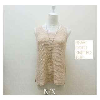 ✦ NEW ARRIVALS ✦  BNWT DOTTI Knitted Top