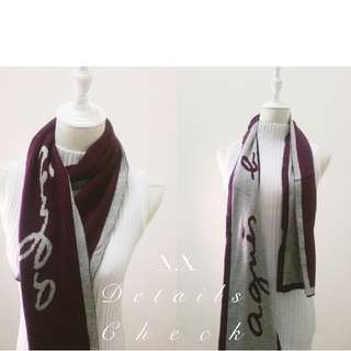 UNISEX | COUPLE WEAR ✦ BNWT AUTH Agnés b. Winter Scarf ✦