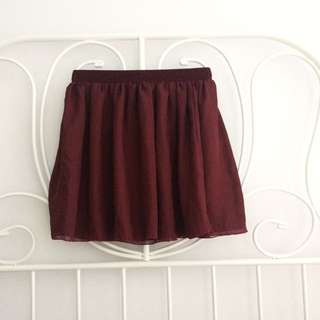 Make an offer / open to trades American apparel chiffon skirt