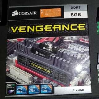 DDR3 1866 CL9 8GB Corsair Vengeance RAM