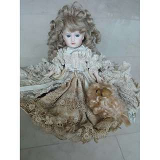 Porcelain English Doll
