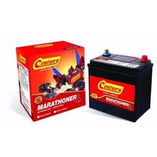 Century Battery (With Installation) Century NS40ZL Maintenance Free Battery For Viva, Alza, Kancil, Kembara & Honda Jazz