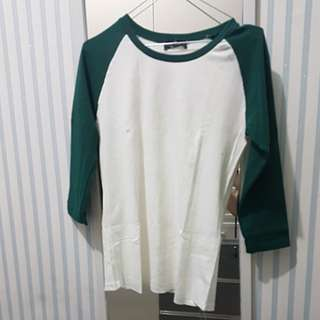 Green white top