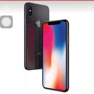 Selling Sealed singtel set iPhone x 64gb black