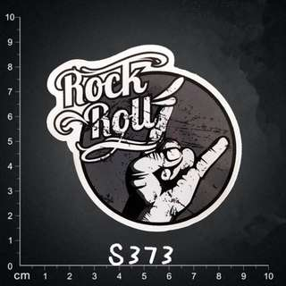# Sticker # Waterproof PVC HD/Superb Quality Sticker / Decal - Rock&Roll/Music