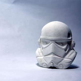 Stormtrooper Concrete Magnet