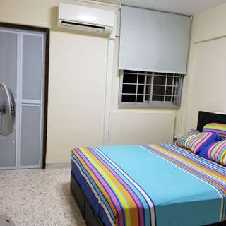 NO AGENT FEE! Newly Painted Master Bedroom for Rent at Hougang (Incl PUB)