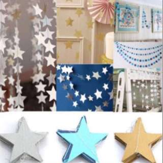 Ready Stocks: Star Garlands