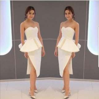 Whiz Pelum White Dress