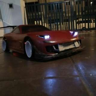 Rc Drift Car - Mazda RX-7 (with Smoke Machine)
