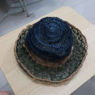 Hat made in abaca