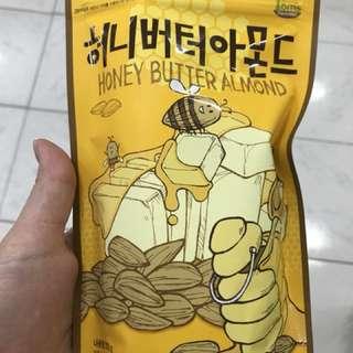 Korea's honey butter almond