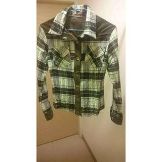 🚚 秋冬最in🎉綠格子襯衫