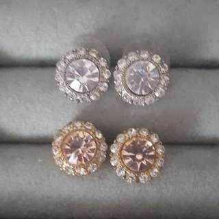 Aldo Rose Gold stud earrings