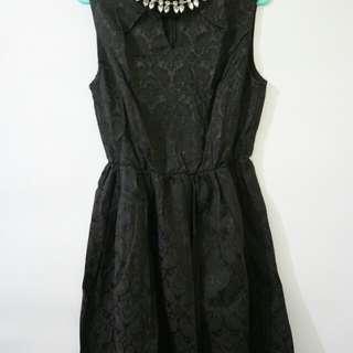 Chic Simple Black Dress