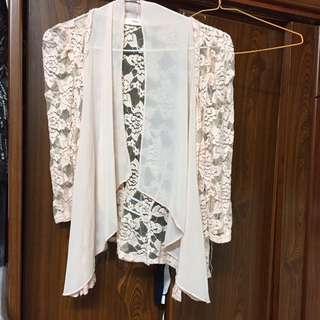 🚚 東京著衣蕾絲小外套