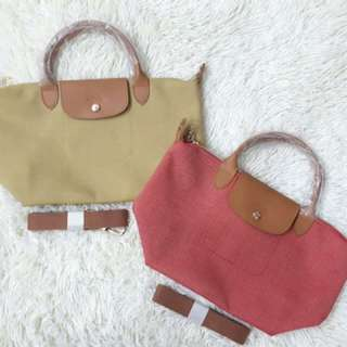 Longchamp denim