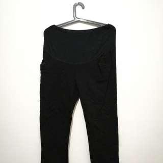 Take All - 2 Black Maternity Pants