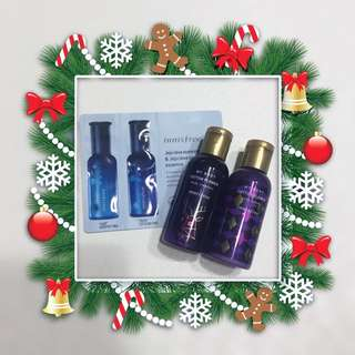 🎅🏻[FREE SHIPPING] X'mas INNISFREE Cotton Flower Body Cleanser &Lotion
