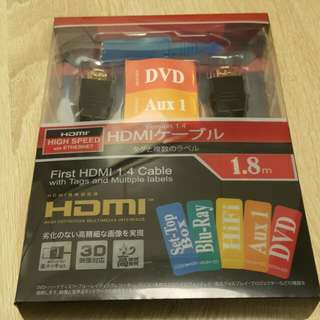 1.4m 優質 HDMI Cable with tags