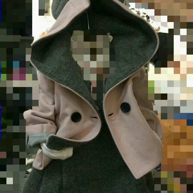 正韓兔耳造型外套