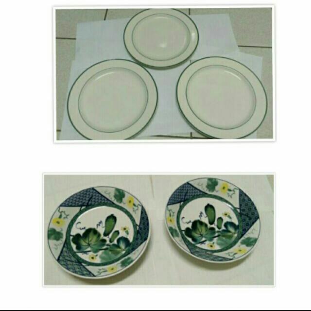 全新❇法式懷舊盤/中式瓷器盤