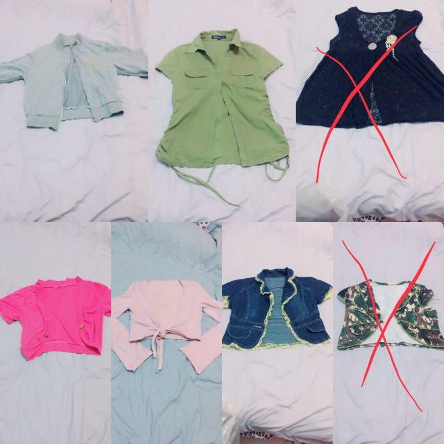 小外套 罩衫系列