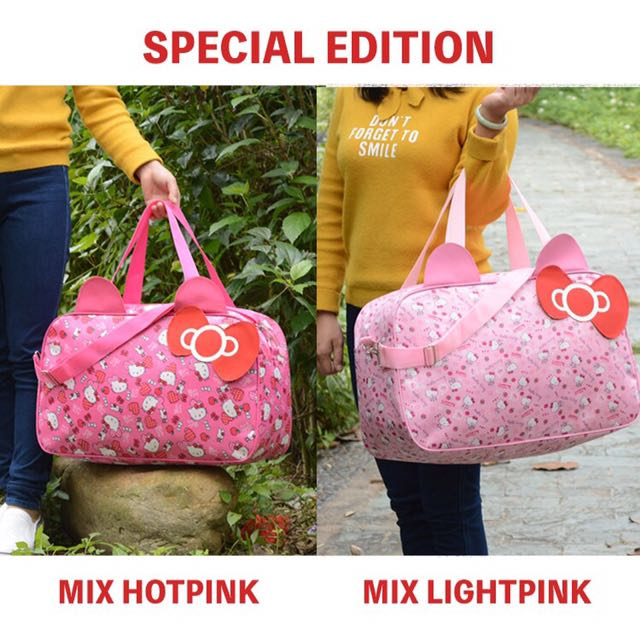 697bc6da8 ❤ Special edition Hello Kitty Travel bag, Travel, Travel ...