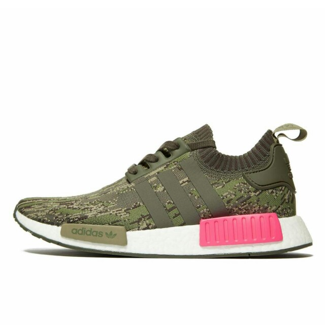 outlet store dd097 2fdb2 Adidas NMD Runner R1 PK Glitch Camo OlivePink, Mens Fashion, Footwear,  Sneakers on Carousell