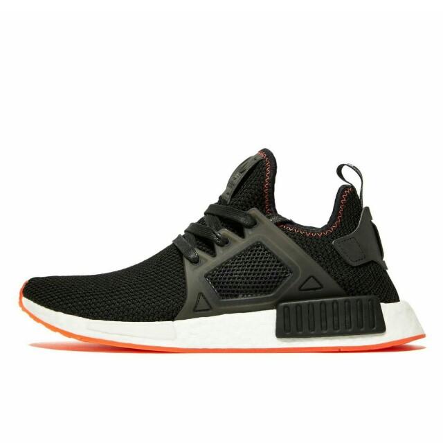 e6399cf63a9f6 Adidas NMD XR1 Primeknit Black Crimson