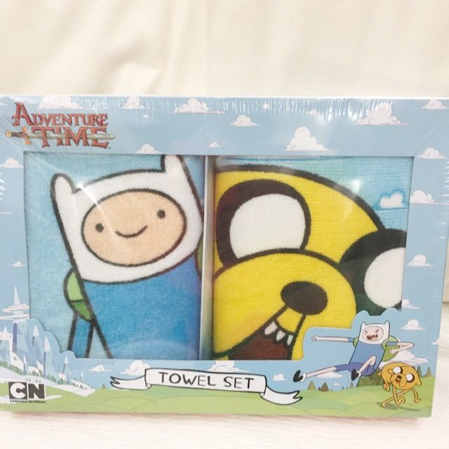 Adventure Time set of 2 towels