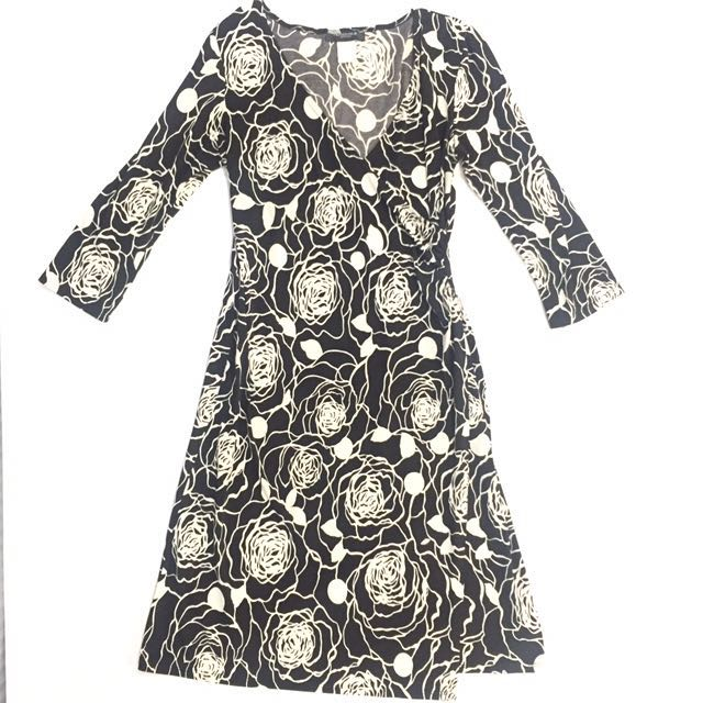Alyn Paige Printed Wrap Dress